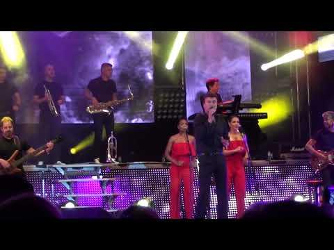 TONY CARREIRA e fogo de artificio em Brunhais 2018