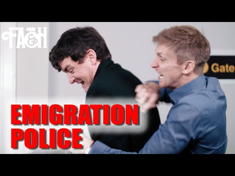 Emigration Police (The Brain Drain) - Foil Arms and Hog