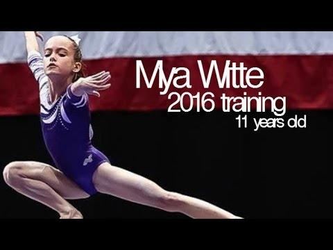 Mya Witte - Training Montage 2016