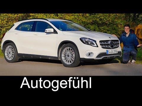 Mercedes GLA FULL REVIEW test 2018 Facelift GLA 220 Style - Autogefühl