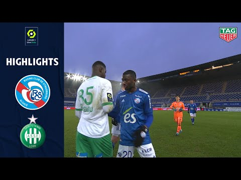 Strasbourg St. Etienne Goals And Highlights