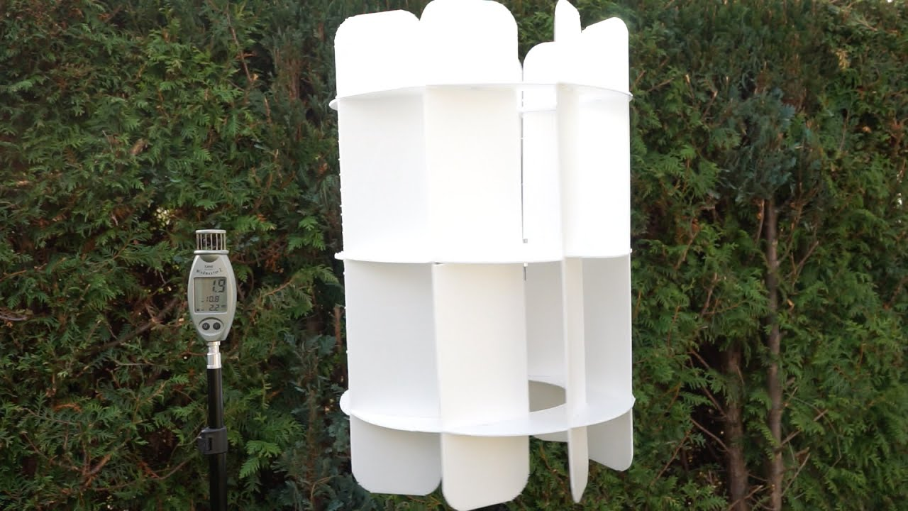 DIY vertical wind turbine: how to build a wind turbine with a vertical axis of rotation 24