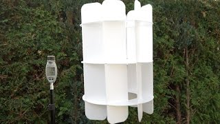How to make a Windturbine/VAWT, DIY and 3D plans