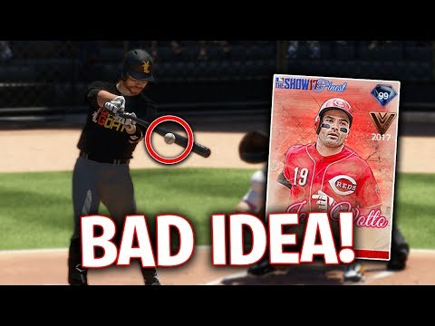 DON'T THROW THIS TO 99 JOEY VOTTO! MLB The Show 17 | Battle Royale