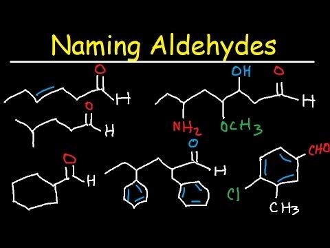 Naming Aldehydes Explained, IUPAC Nomenclature Practice - Organic Chemistry