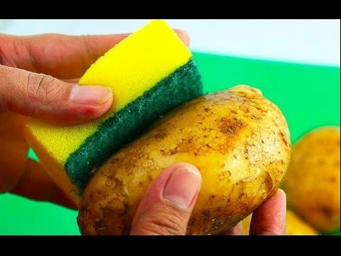 How To Peel Potato In A 5 Seconds