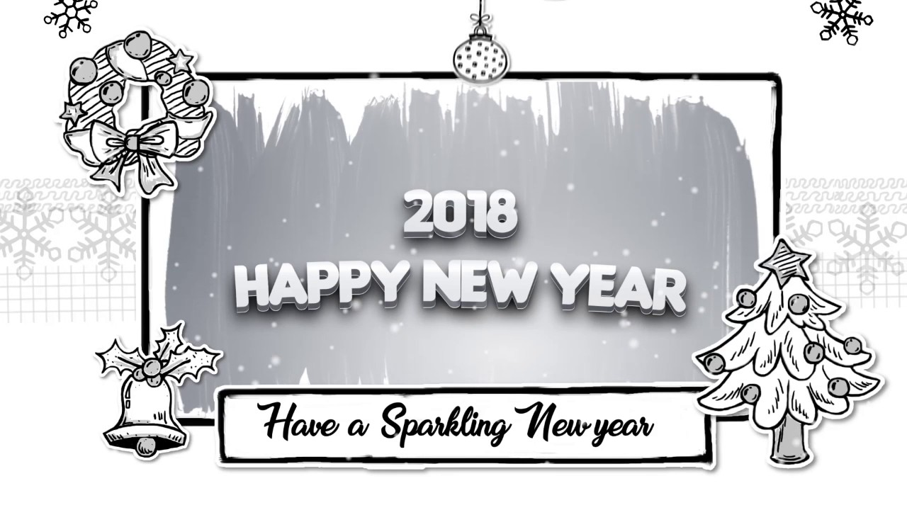 Video Clips of Happy New Year 2018