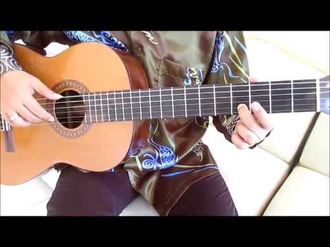 Happy Birthday Guitar Lesson on One String - Guitar Lessons for Beginners