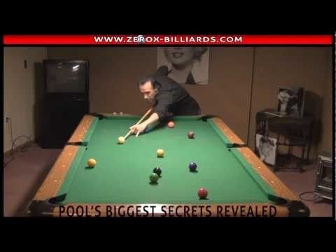 Pool Lessons - 9 Ball 8 Ball Poor Concentration