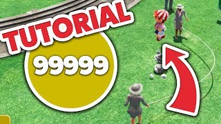 Super Mario Odyssey - [GLITCH] Score 99999 on Jump Rope - TUTORIAL