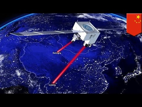 Quantum Communication satellite Micius sends entangled photons to stations 1200 km apart - TomoNews
