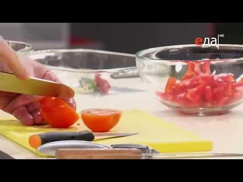 Как резать помидоры в салат