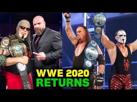 5 Big WWE Returns Leaked For 2020 - Scott Steiner & Sting Return