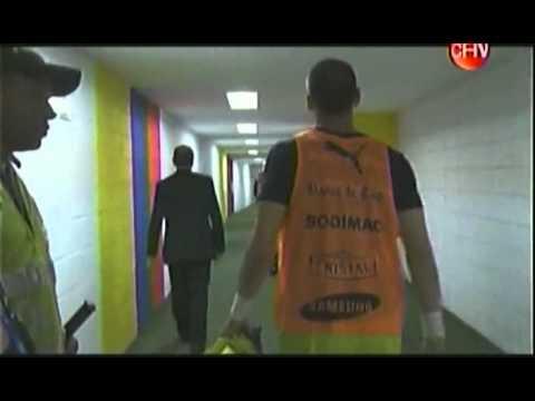 Sampaoli se va Puteando al árbitro (Colombia - Chile 2013)