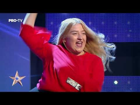 Dancehall cu stil | Edera Shepurova - Românii au Talent