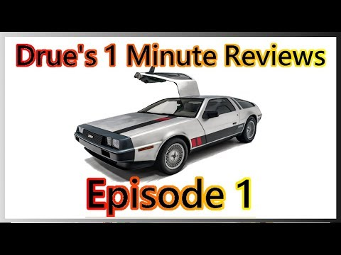 Drue's 1 Minute Review - Episode 1: 1967 Austin Healy Minivan