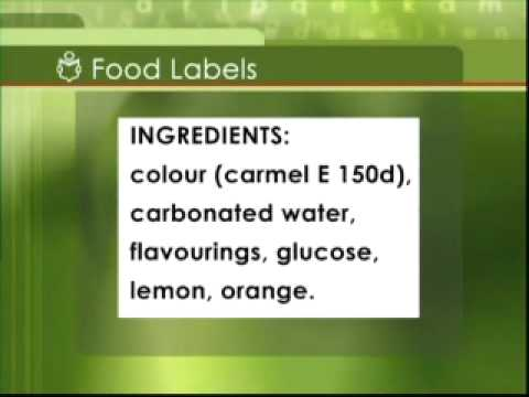 Read Write Now 3 Programme 11 Learning Point 3 Food Labels