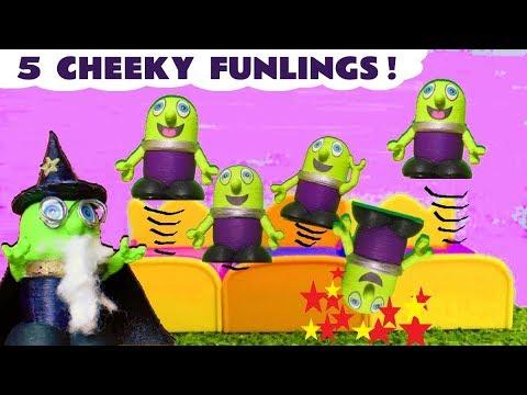 Five Little Monkeys Jumping On The Bed Nursery Rhyme Kids