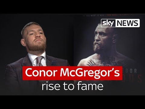 Conor McGregor's rise to fame