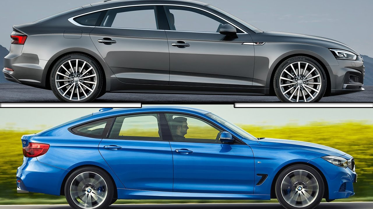 2017 Audi A5 Sportback vs 2017 BMW 340i GT - YouTube