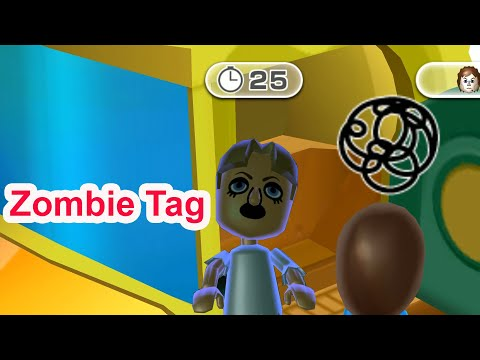 Wii Party Zombie Tag & Hide and Peek | Gamepartyhub |