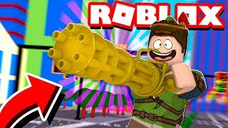 ARMA DE OURO DOS DEUSES NO ROBLOX!! (Gun Simulator)