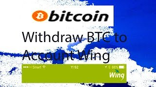 How to withdraw money from Remitano with account wing