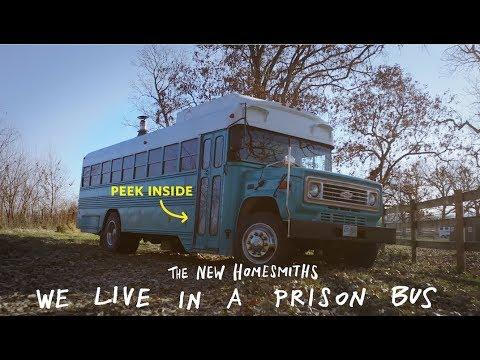Tiny Home Prison Bus Tour | Apartment Therapy