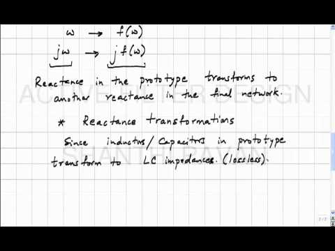 AFD11 - Introduction to frequency transformations.