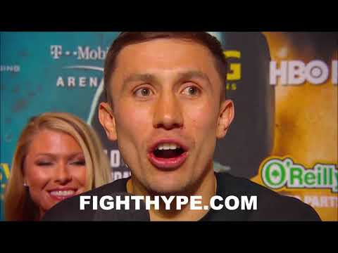 GOLOVKIN'S FIRED UP FINAL WORDS FOR CANELO: