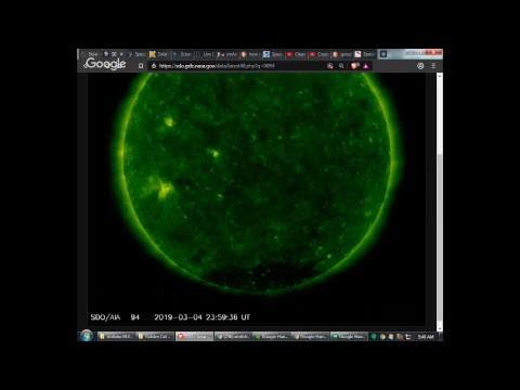 smAsho streAm: Space Weather 03/05/2019