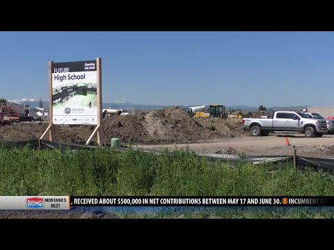 Tax increase coming to cover Bozeman High School construction costs