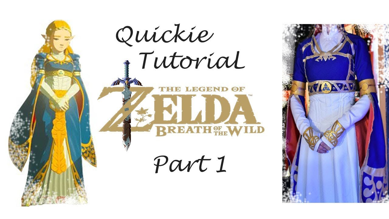 Quickie Tutorial Zelda Botw Royal Dress Part 1 Youtube