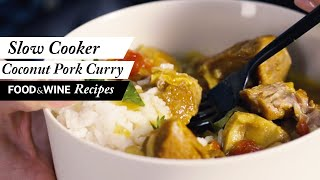 Slow Cooker Coconut Curry | Food & Wine Recipes