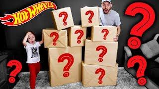 8 CAIXAS MISTERIOSAS DA HOT WHEELS!! Unboxing de Brinquedos da Mattel