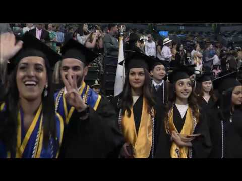 University of Massachusetts Boston Commencement 2016