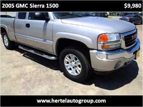 2005 gmc sierra 1500 used cars fort worth tx youtube. Black Bedroom Furniture Sets. Home Design Ideas