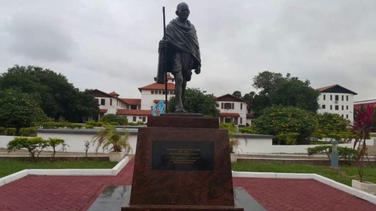 Dr. Obadele Kambon Gandhi Interview with Outlook Magazine in Delhi