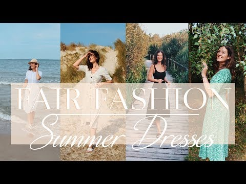 My Favorite Dresses | ETHICAL & SUSTAINABLE FASHION
