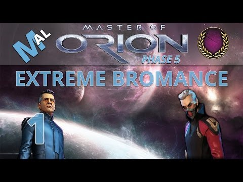 MASTER OF ORION | COOP | LET'S PLAY | PART 1 | EXTREME BROMANCE!