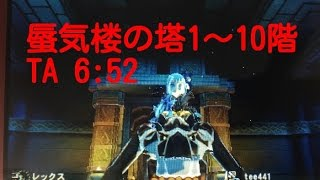 蜃気楼の塔1~10(2~9)階のTA動画です(/・ω・)/ ティガの突進を導入して...