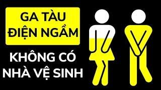 Tại Sao Ga Tàu Điện Ngầm Không Có Nhà Vệ Sinh Công Cộng
