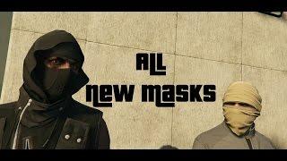All New Masks & Motorcycle Helmets (GTA Online Heist DLC)