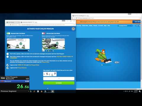 [ex-WR] Club Penguin Banned% {39.53}