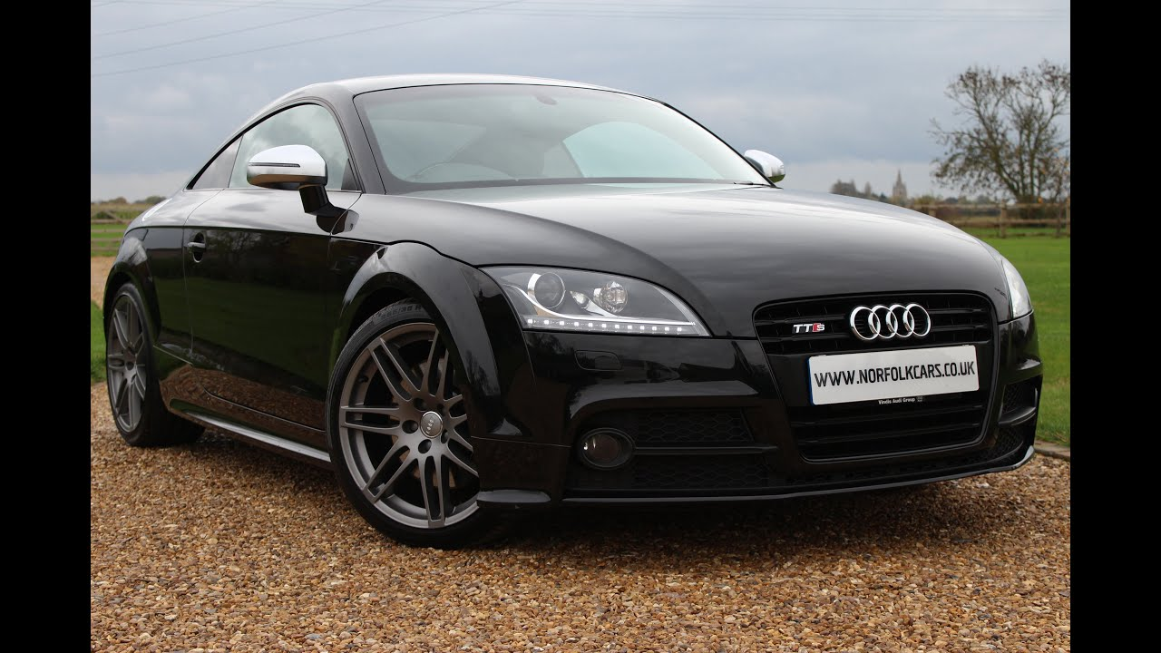 Audi Tts Coupe Black Edition Quattro S Tronic Youtube