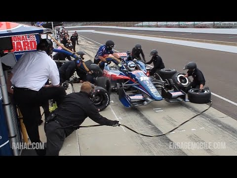 Watch Rahal-Letterman Racing Team's Pit Stop—Via Google Glass
