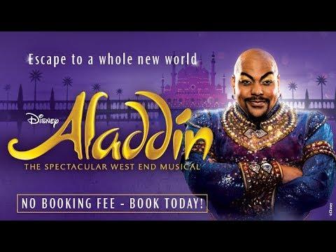 Behind the curtain at Disney's Aladdin   Ticketmaster
