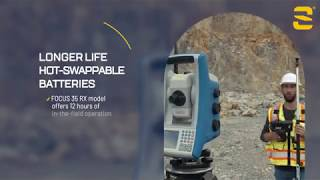Spectra Geospatial Focus 35  Motorized Total Station