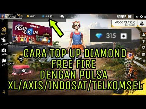 Cara Top Up Free Fire Dengan Pulsa Xl Axis Indosat Telkomsel
