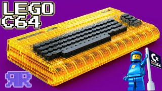 1/3: Full-Size Working Lego Commodore 64! #TheBrixtyFour